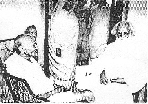 tagore-and-ghandi