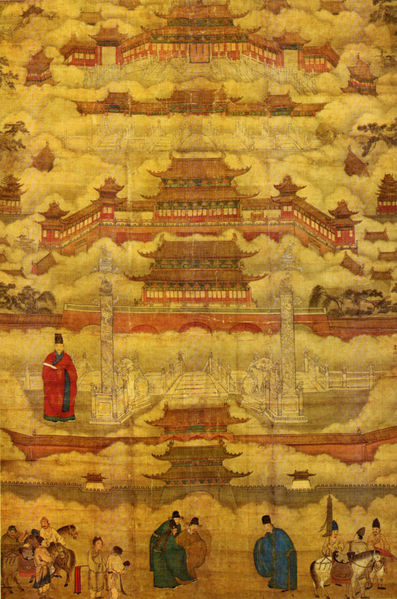 Forbidden City Painting