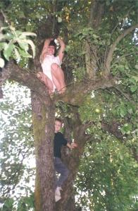 treekids1990ourbackyard