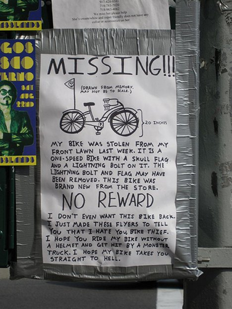 missing-bike-no-reward