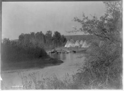 Camp on Little Big Horn
