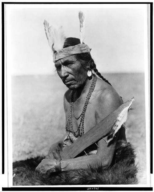 Blackfoot soldier: Fat Horse